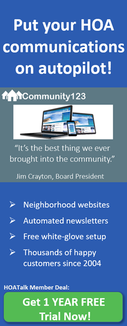 Get 1 free year community web site hosting from Community123.com!